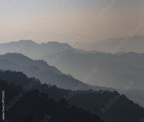 Misty Mountains #97720352