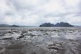 Fototapeta  - odpływ morza, Filipiny, egzotyczna wyspa, plaża