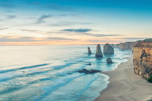 The Twelve Apostles View Along...