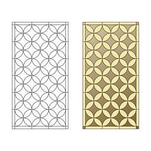 Stained Glass Pattern, Decorative Lattice