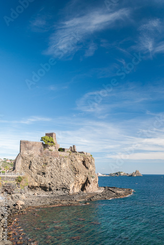 Photo The norman castle of Acicastello