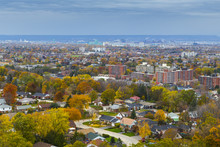 Overlooking Hamilton Ontario