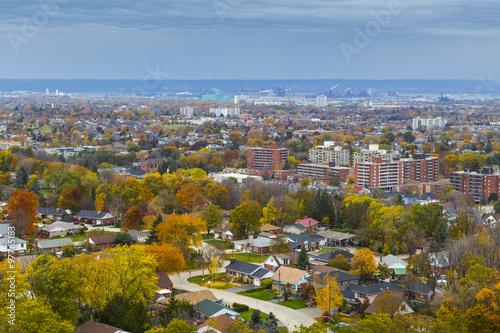 Cuadros en Lienzo Overlooking Hamilton Ontario