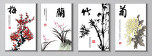 Chinese Painting Set. Chinese ...