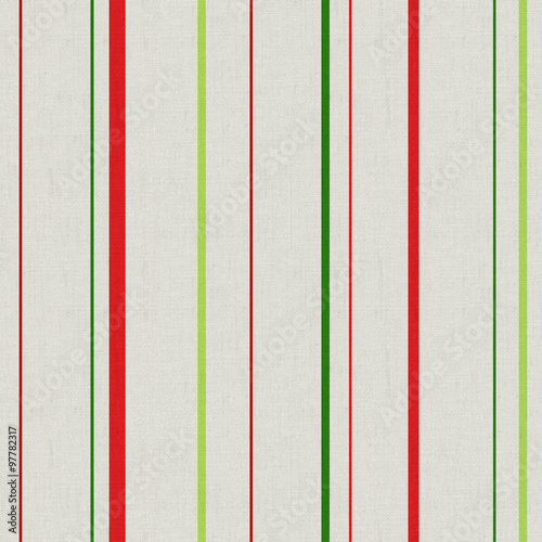 Naklejka na szybę Pattern with strip in red and green colors