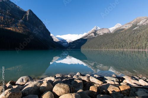 Spoed Foto op Canvas Nieuw Zeeland Lake Louise in den Rocky Mountains