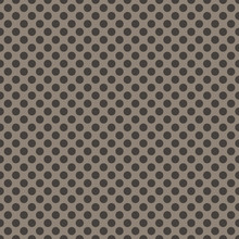Polka Dots On Brown Background