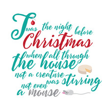 Twas The Night Before Christmas Poem Part 1.