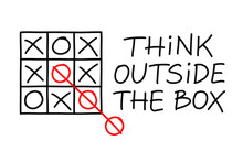 Think Outside The Box Tic Tac ...