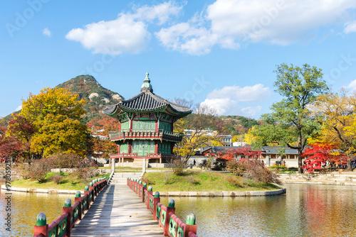 Foto op Canvas Seoel Gyeongbokgung Palace in Seoul,South Korea