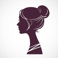 Women Silhouette Head