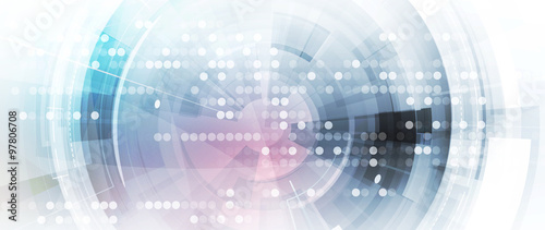 Cuadros en Lienzo abstract technology background Business & development direction