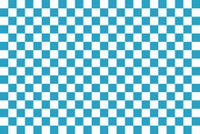 Blue Seamless Pattern Chessboard