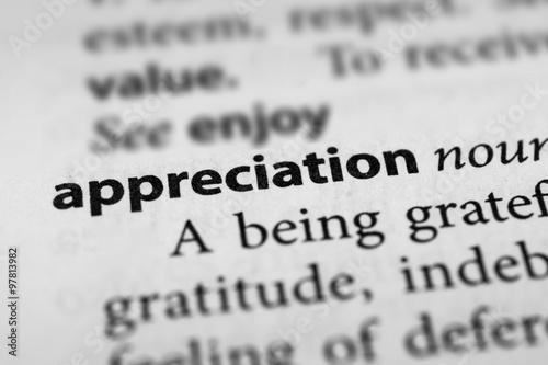 Fotografia  Appreciation