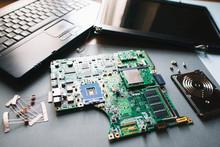 Disassembled Computer (laptop...