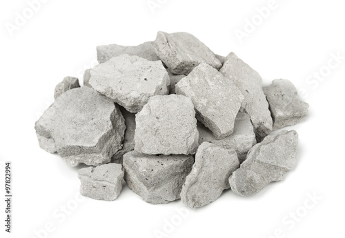 Fotografía  Pile of concrete rubble