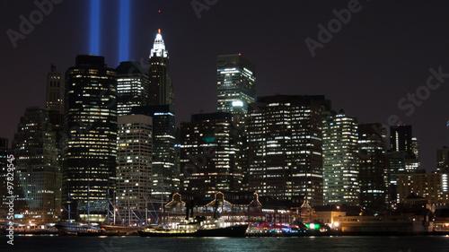 Tribute in Light, Manhattan, New York City, America, USA