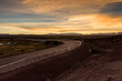 Roads in the altiplano near border with Bolivia and Chile