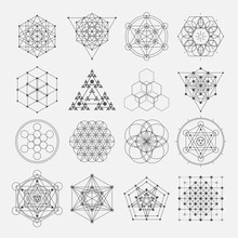 Sacred Geometry Vector Design ...