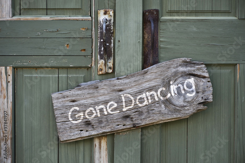 Poster Texas Gone Dancing.