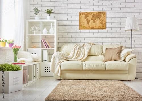 Fotografie, Tablou  modern living room