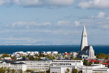 Reykjavik Iceland Capital View Cityscape