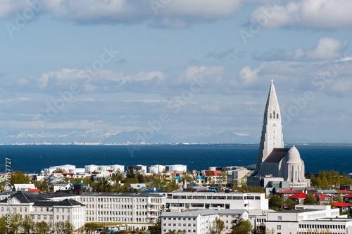 Fényképezés Reykjavik Iceland capital view cityscape
