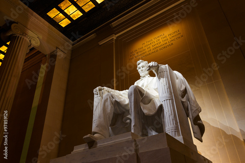 фотография  Lincoln Memorial at Night