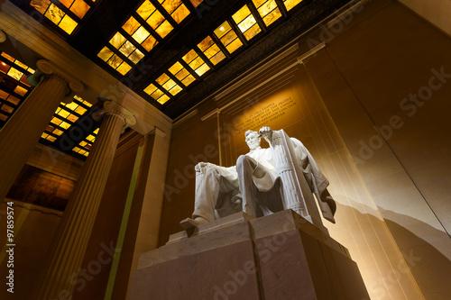 Fotografia  Lincoln Memorial at Night