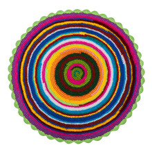 Colorful Knitted Crochet Acryl...