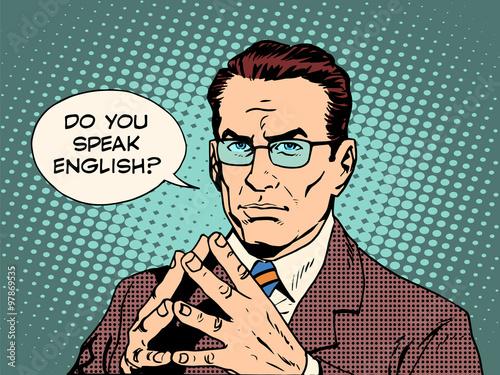 Fotografie, Obraz  Teacher do you speak English