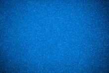 Close Up Blue Glitter Paper Texture Background