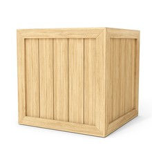 3d New Wooden Crate