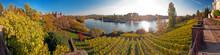 Aschaffenburg Mit Schloss Johannisburg Und Main