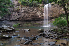 Cherokee Falls At Cloudland Canyon State Park In Georgia