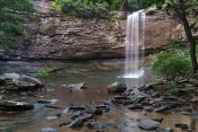 Cherokee Falls At Cloudland Ca...