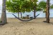 Empty hammock Thailand beach