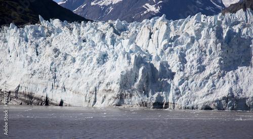Fotobehang Gletsjers glacier calving