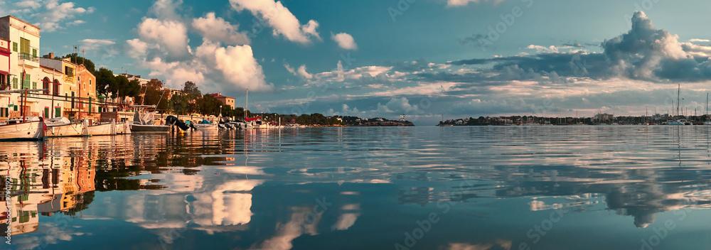 Fototapety, obrazy: porto colom bay in majorca