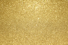 Gold Glitter Christmas Background