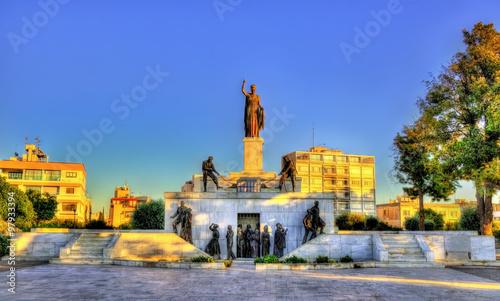 Canvastavla Liberty Monument in Nicosia - Cyprus