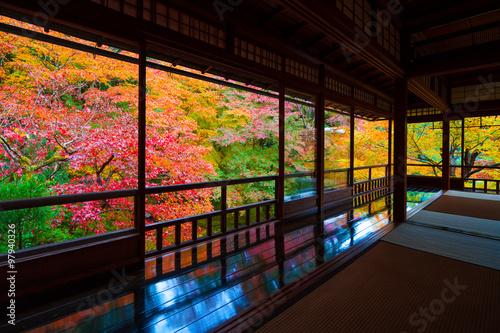 Printed kitchen splashbacks Kyoto 京都 瑠璃光院の紅葉