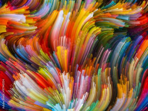 Fototapeta Beyond Color obraz na płótnie