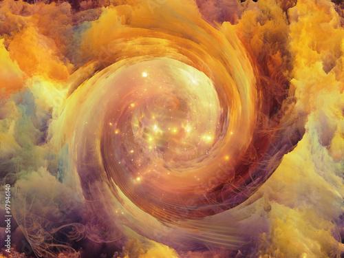 Obraz Virtual Vortex - fototapety do salonu