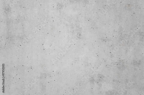 Poster Beton gray cast in place concrete wall texture background
