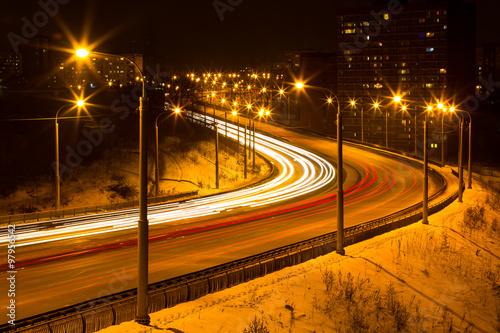 Fotografia, Obraz  City night life