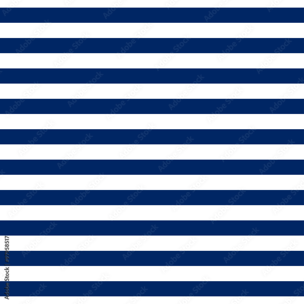 Fototapeta Striped seamless pattern with horizontal line. Fashion graphics design for t-shirt, apparel and other print production. Strict graphic background. Retro style. You can simply change color and size