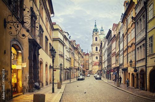 Photo sur Toile Prague Prague street view