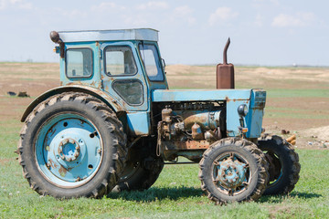 Type in a profile on a tractor T-40
