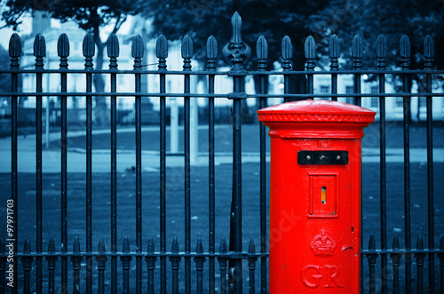 Fotografie, Obraz  London post box